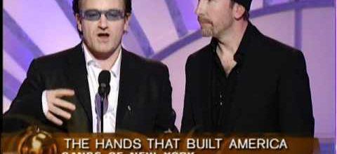 U2- Golden Globe Awards -Beverly Hills, Californie 19-01-2003