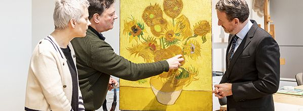 Van Gogh Museum to keep Sunflowers in Amsterdam