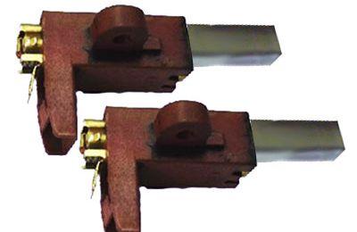 Charbons pour moteur Aldes avec support