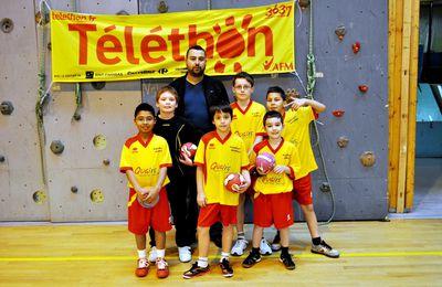 Le Handball et le Téléthon 2012 à Algrange