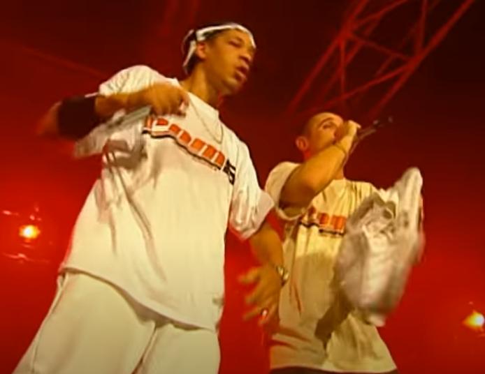 JoeyStarr et Kool Shen (Suprême NTM) - COM8 (COM-EIGHT) - tournée 1998 - le rap c'était mieux avant