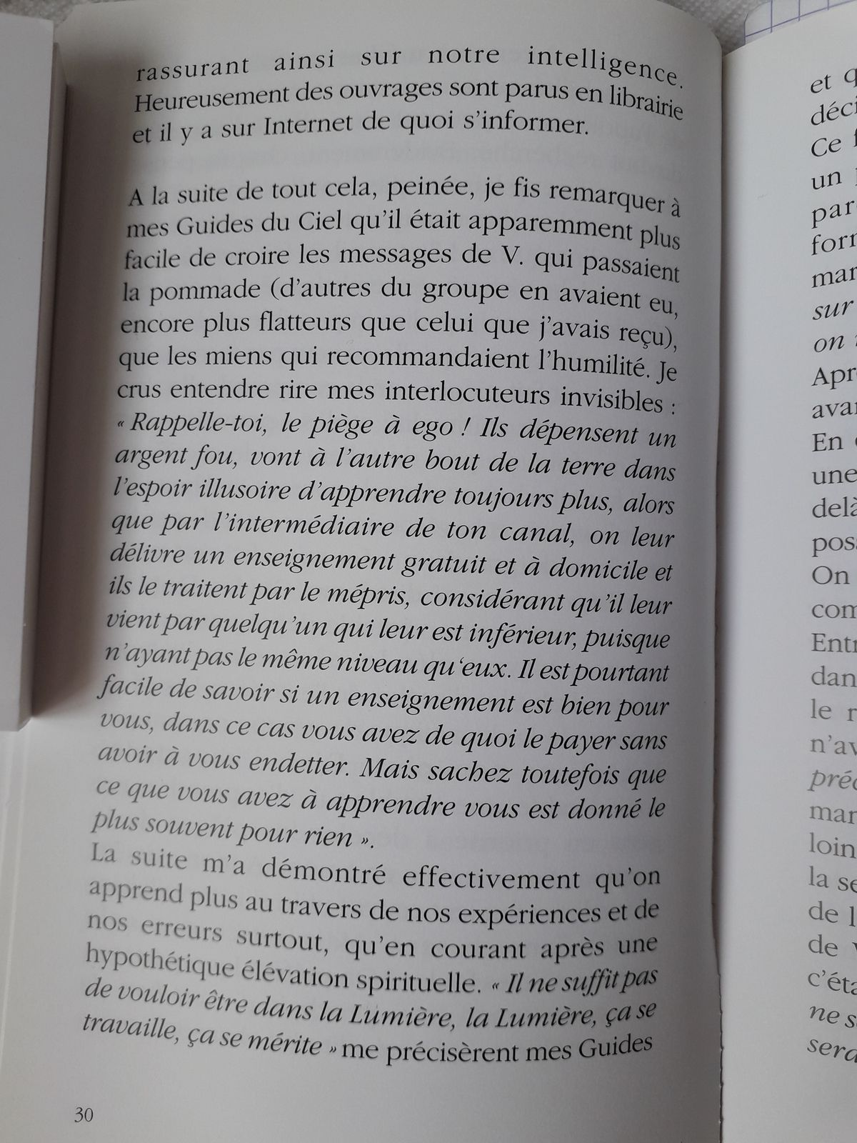 Suite Pluie de Poussières d'Etoiles, page 30 à 33