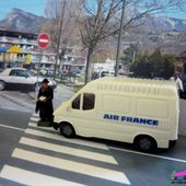 FORD TRANSIT AIR FRANCE VEREM 1/87 - car-collector.net