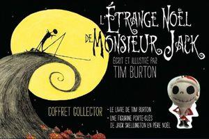 L'étrange de Noël de Monsieur Jack de Tim Burton