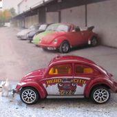 VOLKSWAGEN BEETLE TAXI MATCHBOX 1/58 - car-collector.net