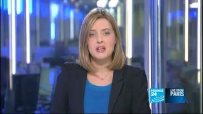 2012 03 14 @21H00 - LAURA BAINES, FRANCE 24, LIVE FROM PARIS