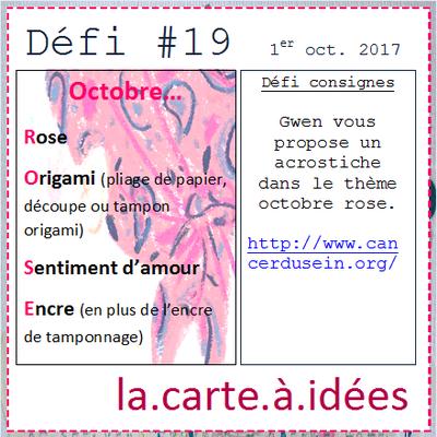 Défi#19