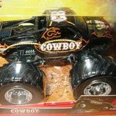 COW-BOY MONSTER JAM HOT WHEELS 1/64 - car-collector.net