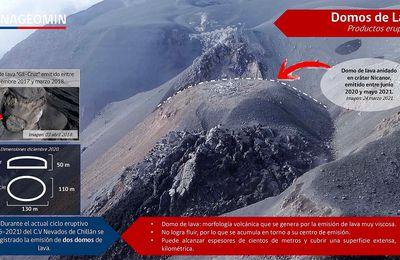 Actualité du Nevados de Chillan, de Fagradalsfjall, du Bromo et de La Palma.