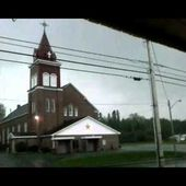 Grand Isle St Gerard church hit by lightning