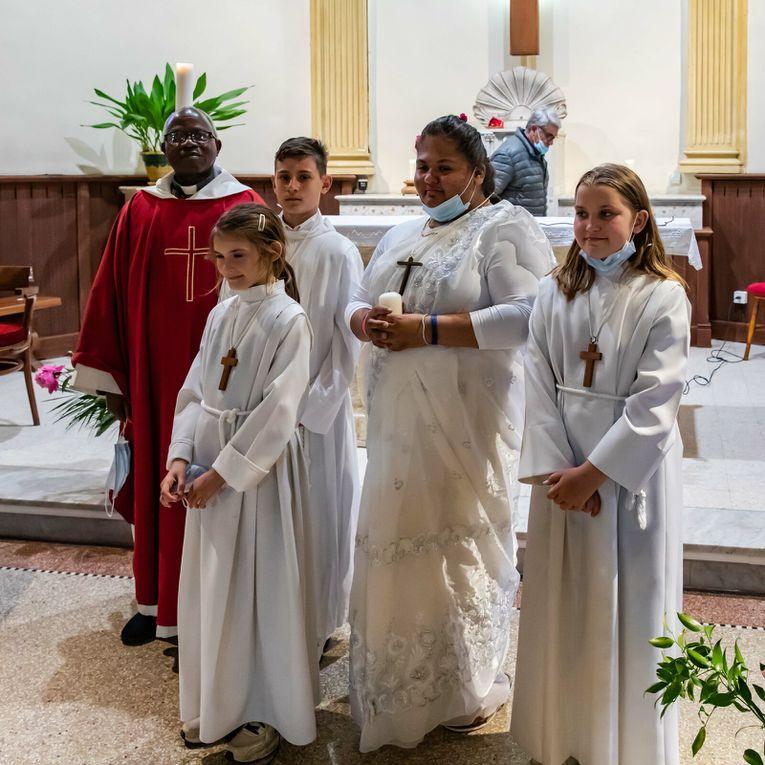 Profession de Foi à St Jacques de Roquefort