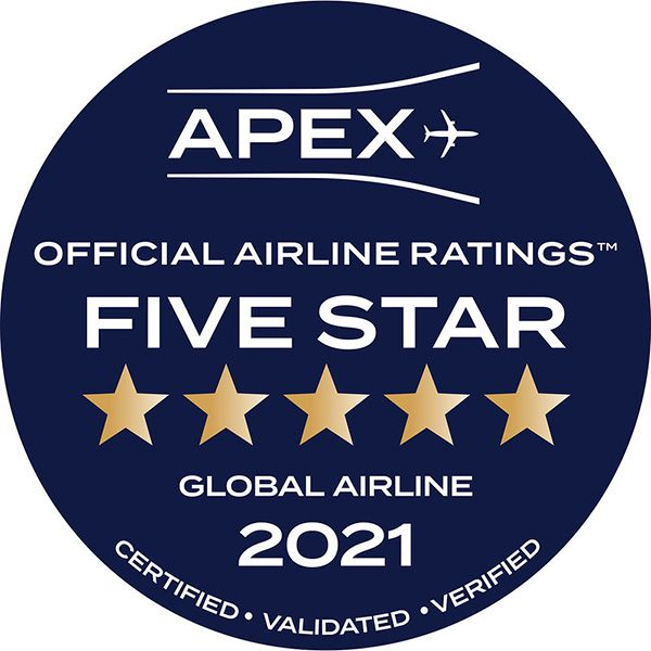 qatar airways 5 étoiles APEX Awards