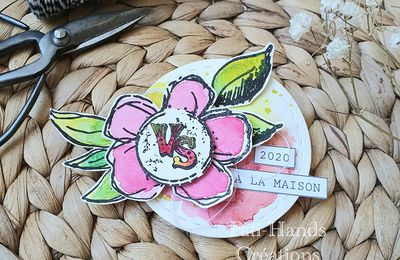 Mon badge Version Scrap 2020 à la maison