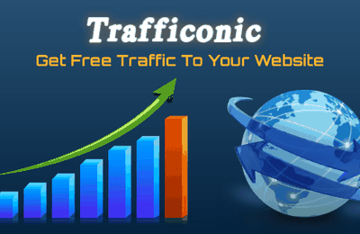 Trafficonic Get free traffic to your website from the fastest traffic exchange