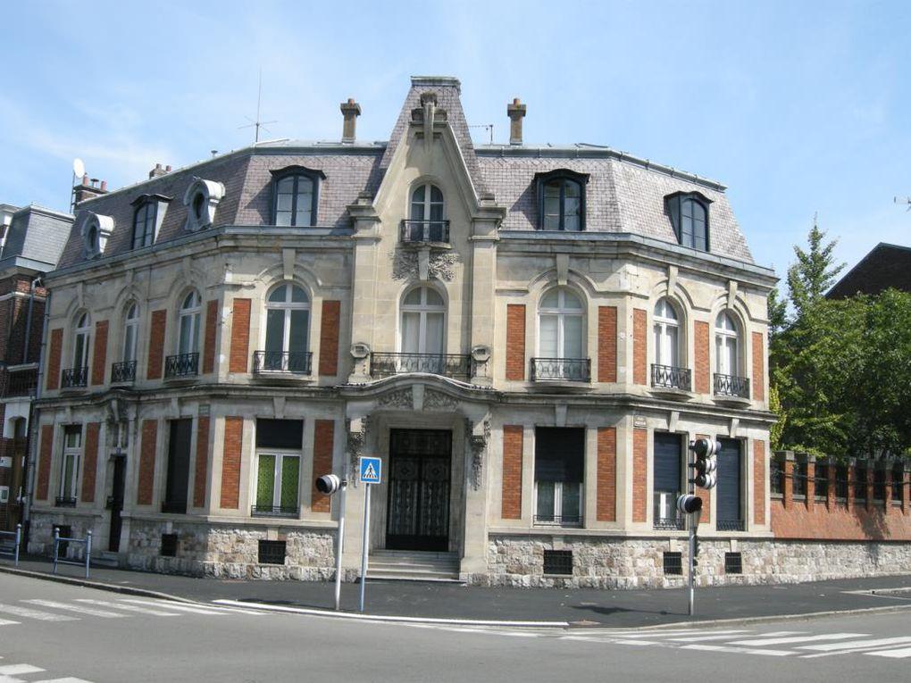 Boulevard Faidherbe et rue Pasteur. Georges Trassoudaine, architecte, 1924.