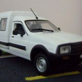 CITROEN C15 1995 V.U 1/43 UNIVERSAL HOBBIES PEINTURE BLANC - car-collector.net