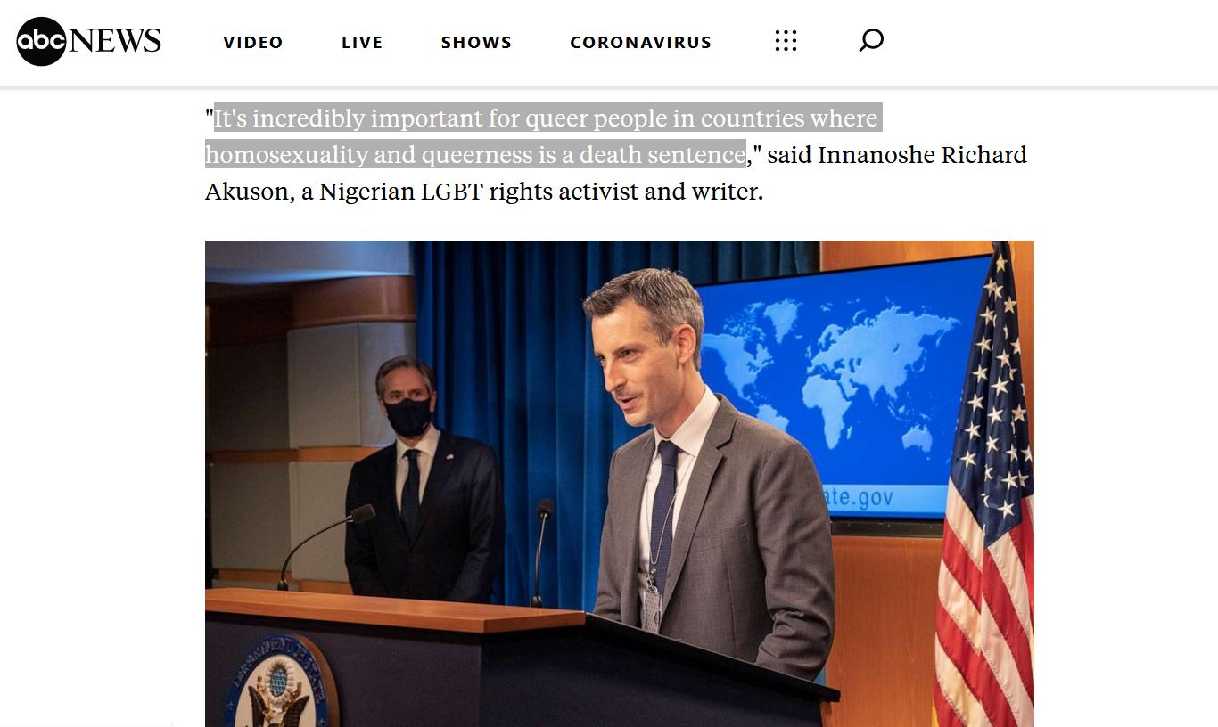 Biden autorise les drapeaux de la fierté gay sur les ambassades américaines
