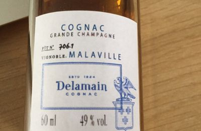 "Cognac Delamain ""Malaville"" Single Cask"