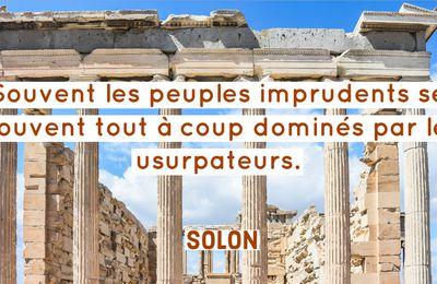 Les réformes de Solon