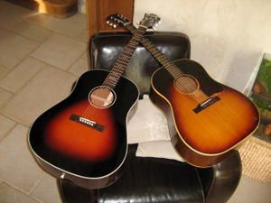 comparatif blueridge BG40 et j45 Gibson 1967 !!