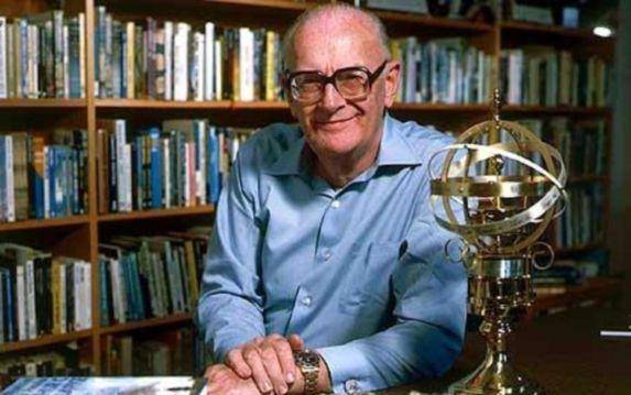 Portrait : Arthur C. Clarke