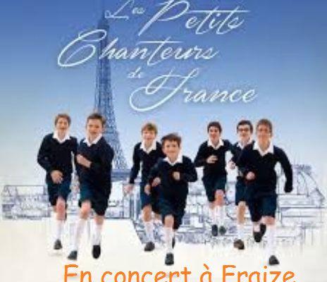 """Concert exceptionnel à Fraize """"En passant pas la Lorraine"""""""