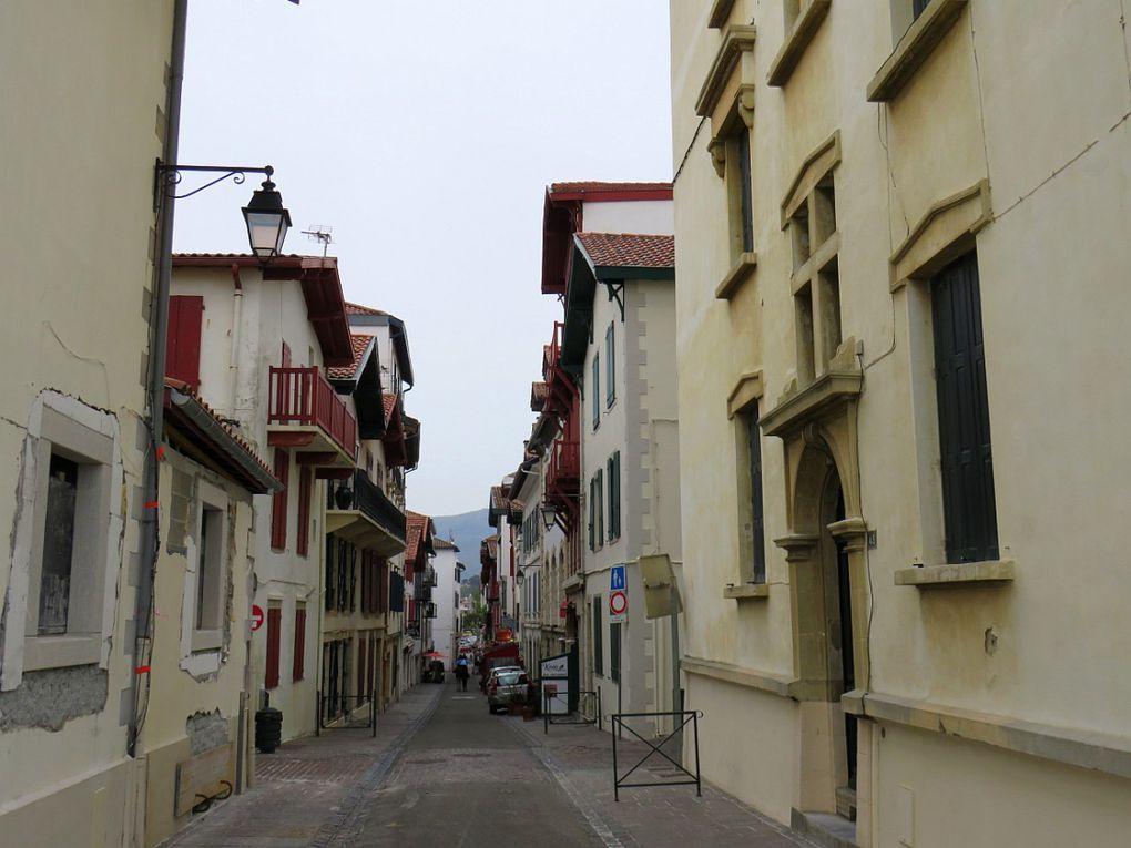 Station balnéaire réputée de la côte basque