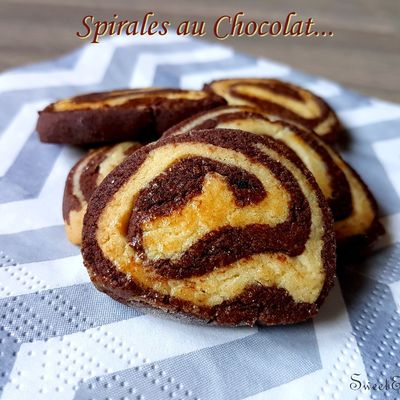 Recette Bredeles Spirales chocolat au thermomix