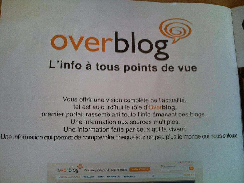 La revue de presse centralise les articles parus dans les journaux, qui parlent d'Overblog et de son évolution; de la presse classique à la presse spécialisée (professionnelle).