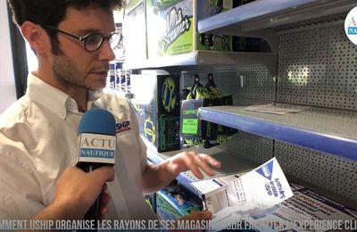 Comment Uship organise les rayons de ses magasins pour faciliter la vie des plaisanciers