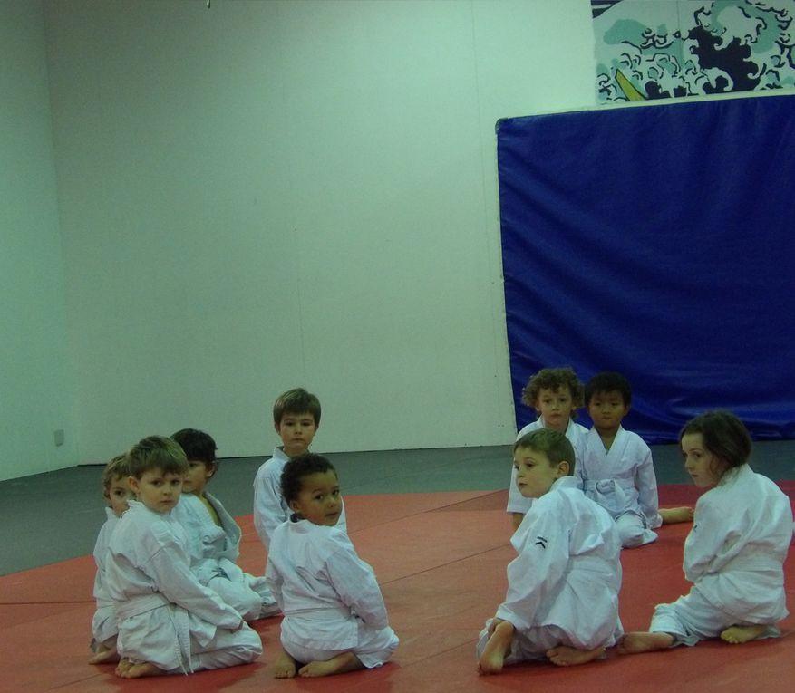 Entraînement de judo.