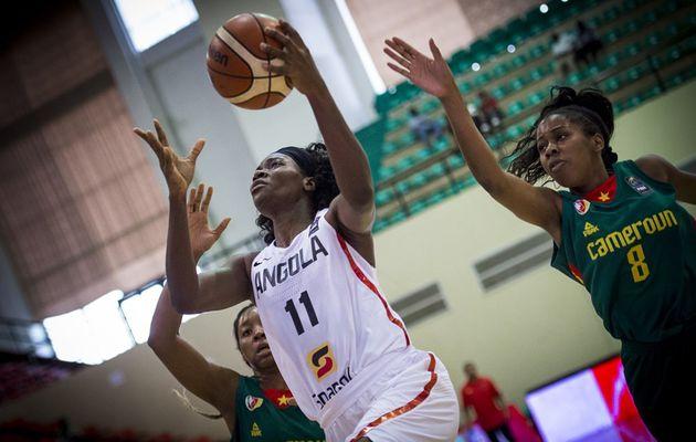 Afrobasket féminin 2017 : l'Angola bat le Cameroun en match de 5e-8e place