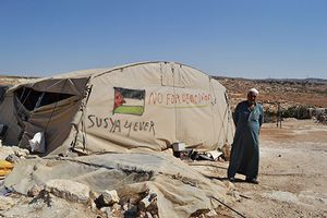 Le village palestinien de Soussia aux habitants déracinés par Israël n'a jamais existé !