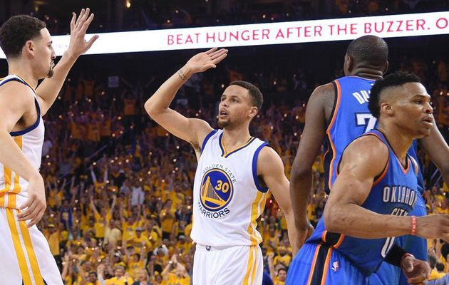 Stephen Curry et Golden State de retour en Finales NBA