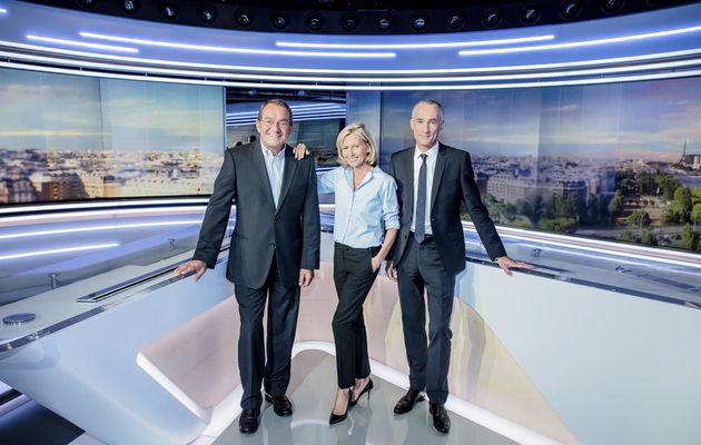Découvrez le nouveau plateau du JT de TF1 (Photos)
