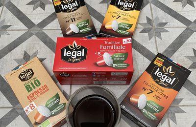 Cafés Legal, Le Goût - Nouveautés : capsules écologiques & végétales