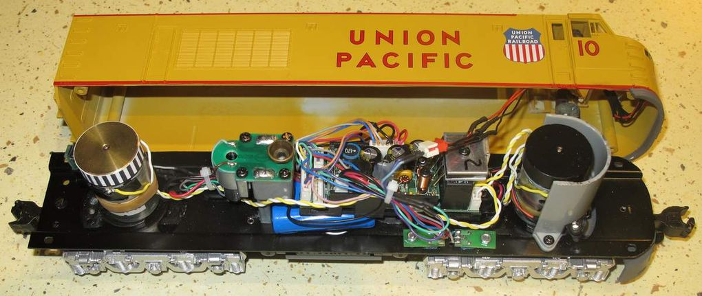 MTH RAILKING Union Pacific GAS TURBINE UPGRADE PROTO-SOUND 2