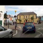 Goldwing irlande vers castelgregory direction le bac de Killimer 4 traversée ville