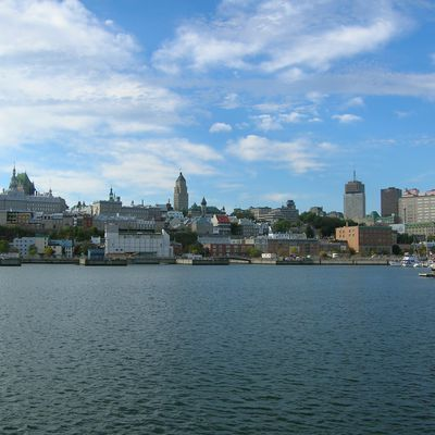 Canada 2007: Québec : l'arrivée