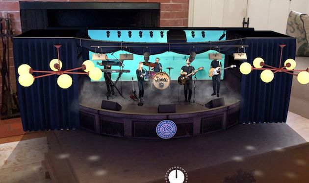 The Mowgli's Interactive Virtual Concert One-Of-A-Kind App