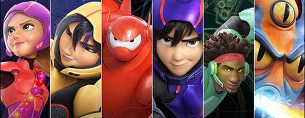 LES NOUVEAUX HÉROS (BIG HERO 6 en VO) de Don Hall & Chris Williams (Studios Disney-Pixar) [critique]