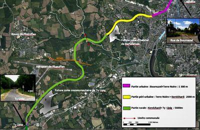 Consultation du Département sur les aménagements de la future voie verte de Quimper