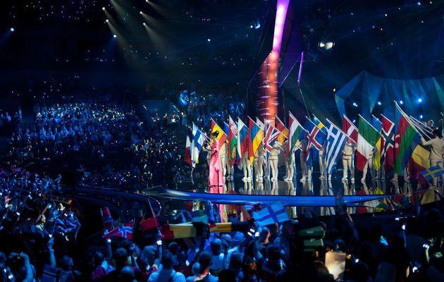 La Finale de l'Eurovision 2016 à Stockholm le 14 mai