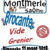 Le 11 Mars brocante à Montmerle