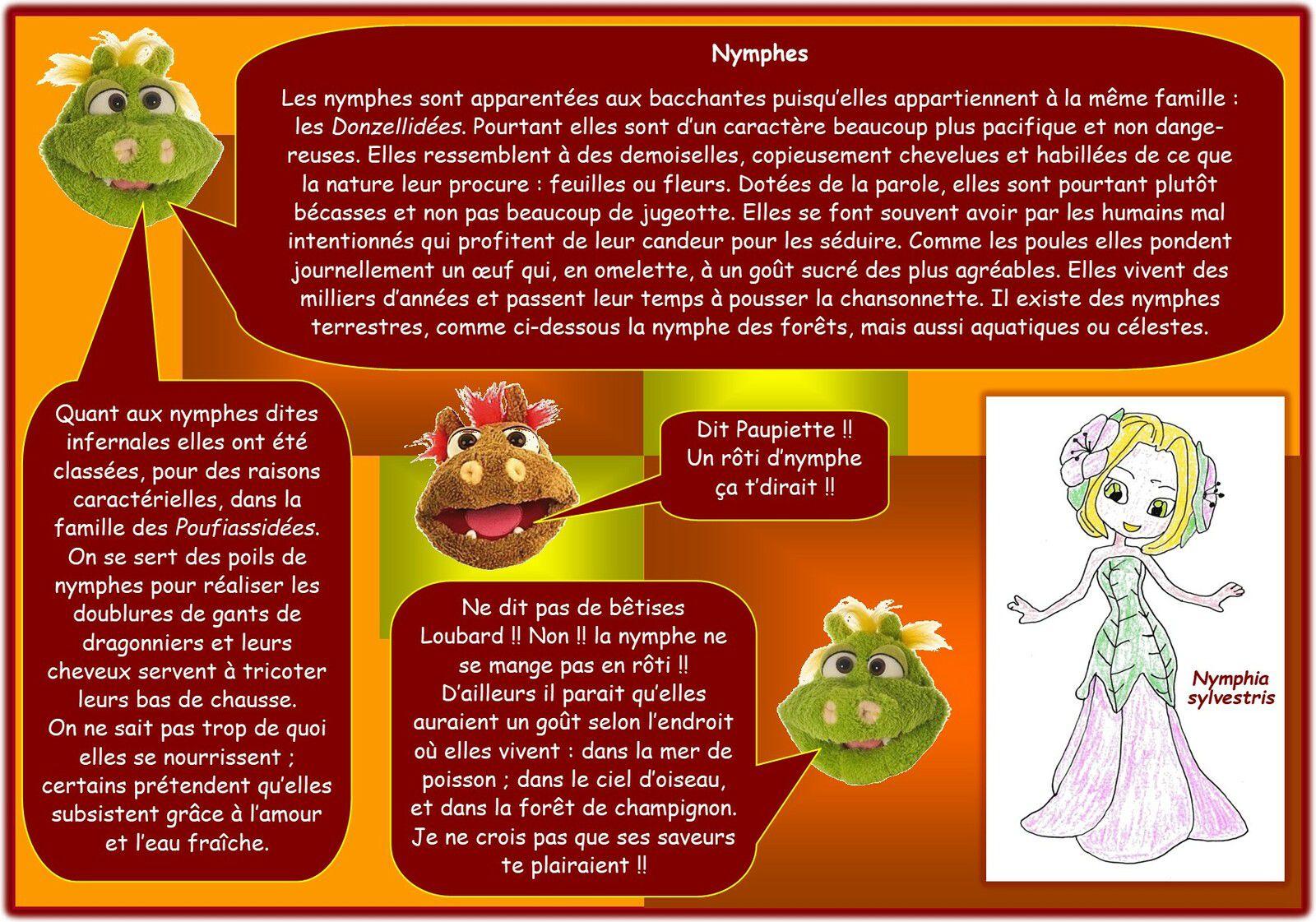 DRAGONNIERS : Quelques créatures utiles à votre profession