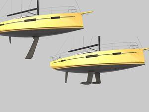 Découvrez les types de quilles et le plan d'aménagement du RM 1070 sur ActuNautique.com !