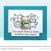 MFTCS504 : CLEAR STAMPS - Peace, Love & Paws FEE DU SCRAP