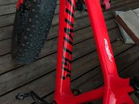 "Le NEW FAT BIKE ""Fat Boy Specialized carbone"" de Vincent."