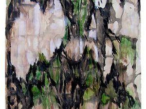 Jacqueline Putatti 2009 - Sujets 16 et 17 - Couleurs perdues et retrouvées - Acryliques sur papier 50 x 65cm