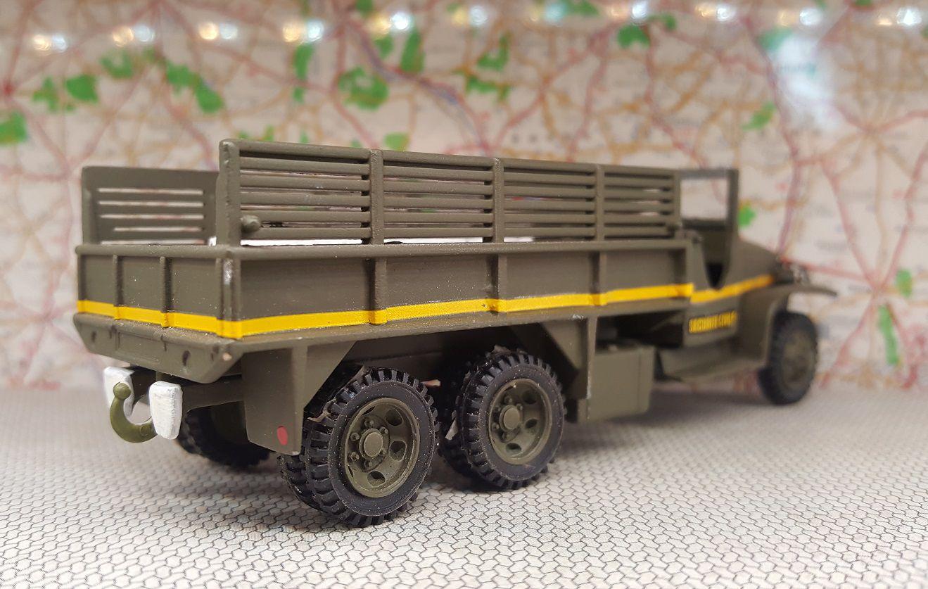 GMX CCKW 353 des formations militaires de la Sécurité civile
